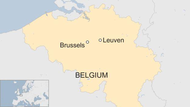 Belgium train derailment One dead and many injured BBC News – Belgium Railway Map