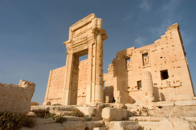 Arch at the Temple of Bel