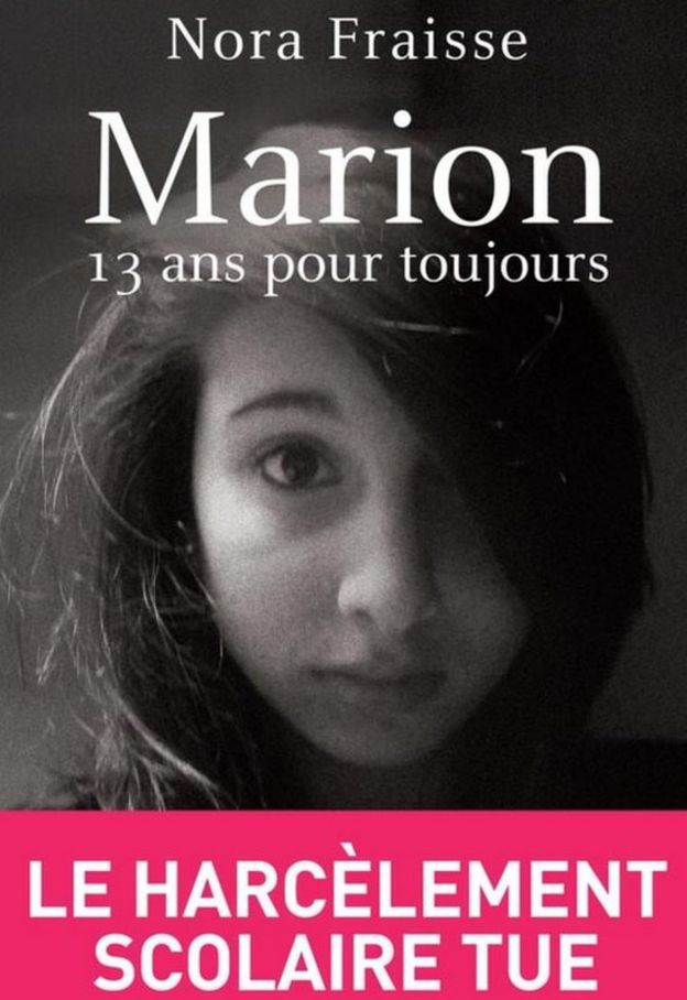 Capa do livrro de Nora Fraisse sobre sua filha Marion