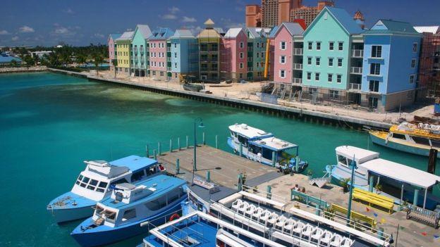 Porto em Bahamas