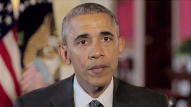 باراک اوباما در آخرین پیام نوروزی خود در سال ۹۵ گفته بود: