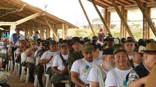 Delegados en la X Conferencia