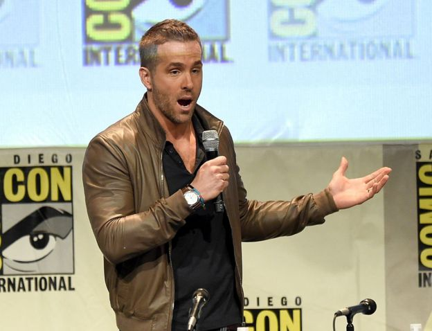 Ryan Reynolds en Comic Con