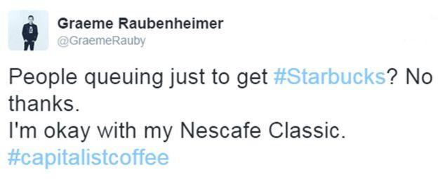 Graeme Raubenheimer's tweet: