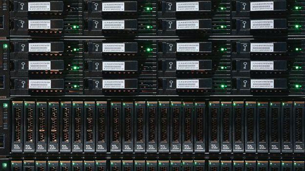Unidades de almacenamiento digital de datos de IBM