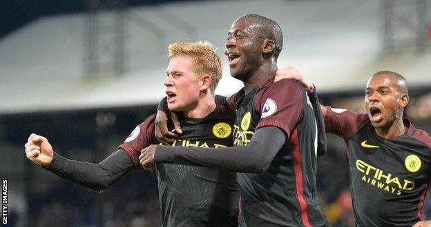 Baada tu ya kurejea Toure alifunga magoli mawili muhimu dhidi ya Crystal Palace