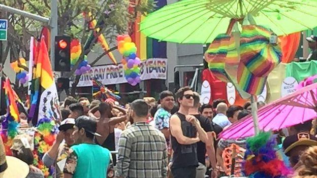 Desfile gay en Los Ángeles