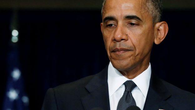 Obama descreveu o ataque como