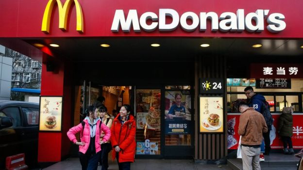 McDonald's es Pekín