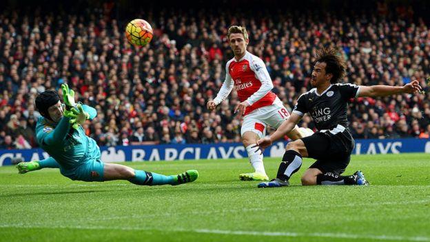 Arsenal vs. Leicester