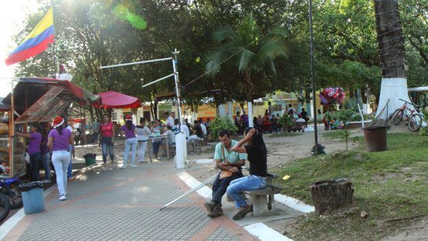 Plaza de Saravena.