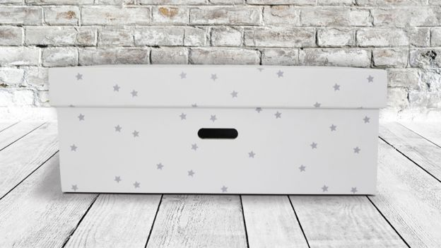 A box by The British Baby Box company