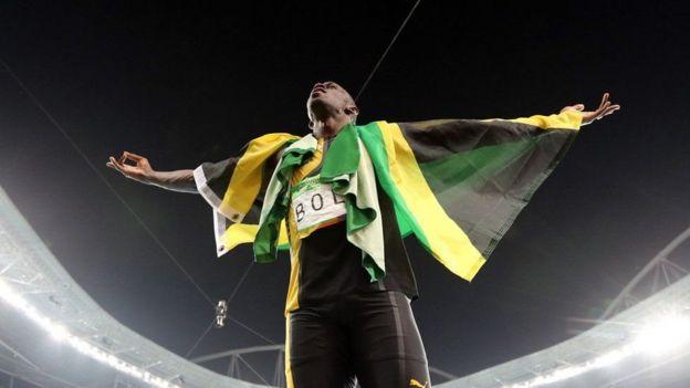 Shindano la Bolt la mwisho lilikuwa la mita 100 kupokezana vijiti mara nne