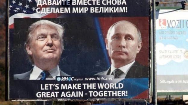 ټرامپ: روس سره د ښو اړيکو مخالفین «احمقان» دي