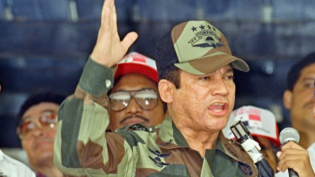 Manuel Noriega en 1988.