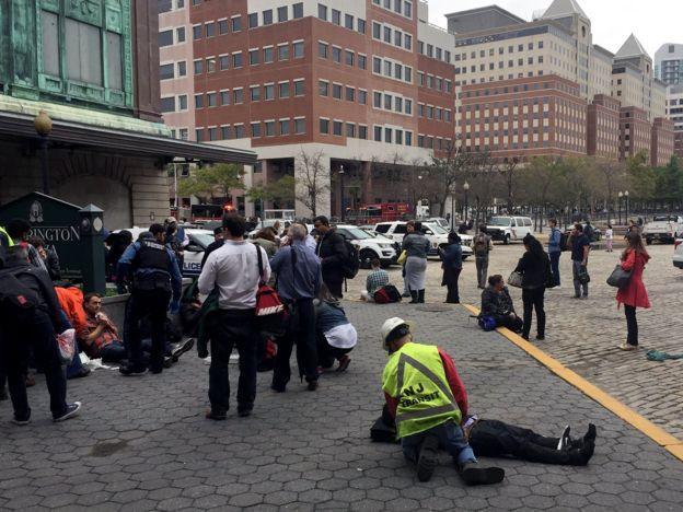 Heridos en Nueva Jersey.
