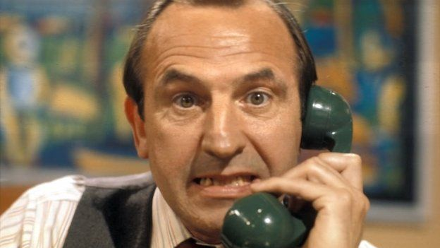 Leonard Rossiter as Reginald Perrin