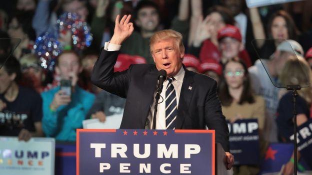 Trump não mencionou o Brasil durante a campanha
