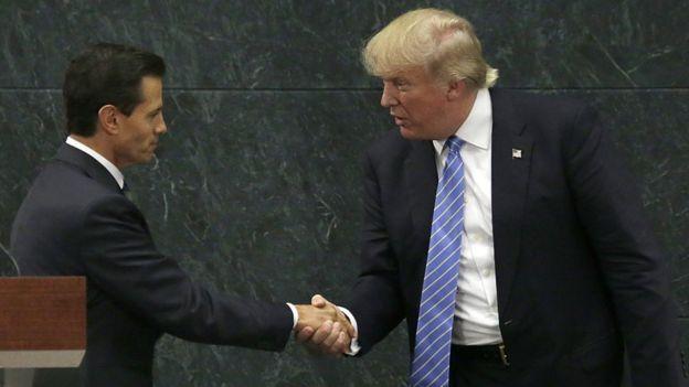Enrique Peña Nito y Donald Trump