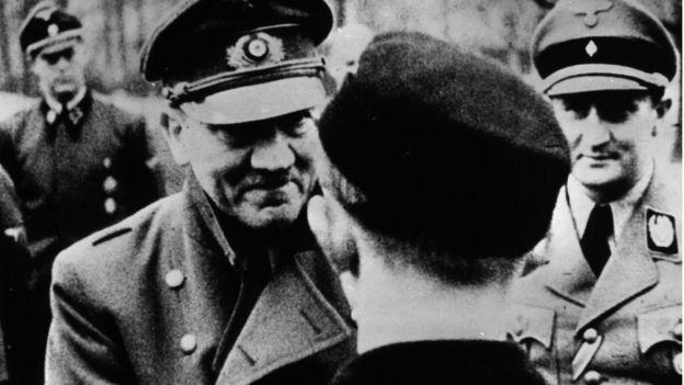 Одно из последних фото Адольфа Гитлера
