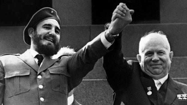 Кастро и Хрущев
