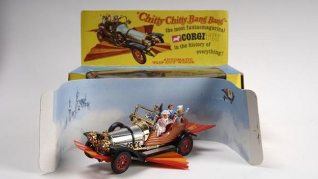 Chitty Chitty Bang Bang model car