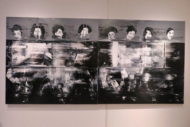 تابلو آب سیاه؛ نقاشی زنان هنرمند تاریخ ایران، از قمرالملوک وزیری تا گوگوش