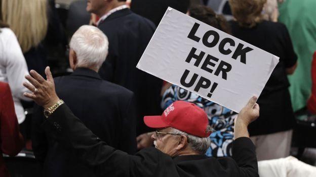 کلینتون را زندانی کنید