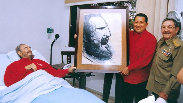 Anh em nhà Castro và cố Tổng thống Venezuela