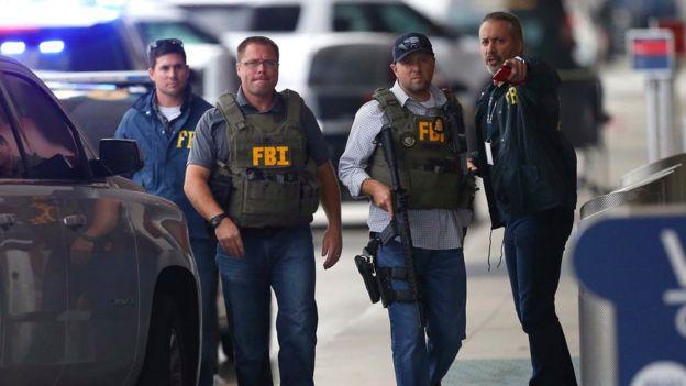 Agentes del FBI y Fort Lauderdale