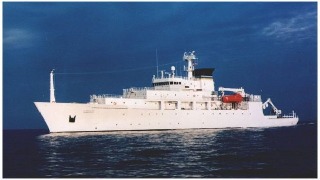 美国海军海洋测量船