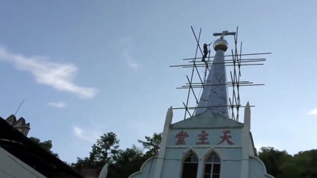 Church in eastern China