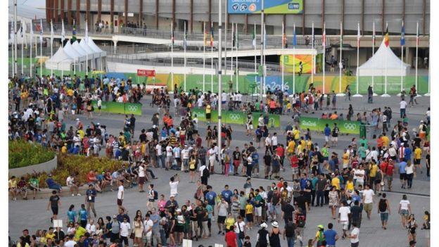 Entrada da Arena Carioca em foto de 6 de agosto