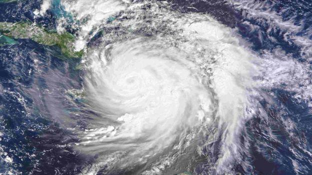 Hurricane Matthew from Nasa's Aqua satellite October 4, 2016