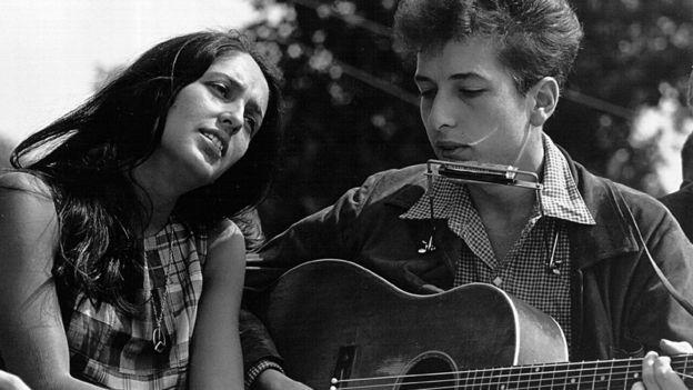 باب دیلن و جون بائز