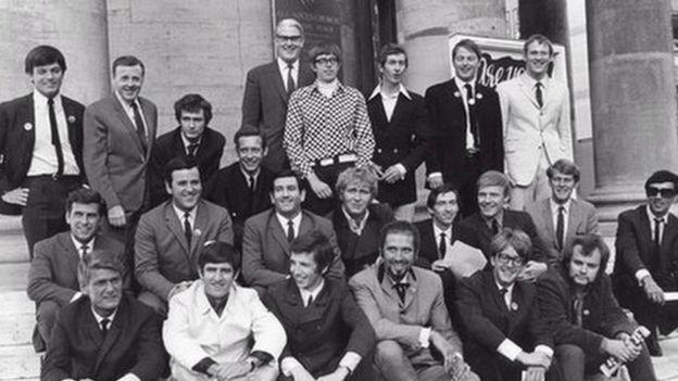 Radio 1 DJs 1967