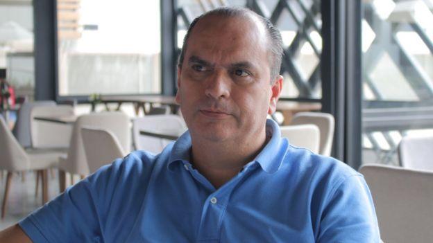 Carlos Luna, de la Cámara de Comercio de Cúcuta.