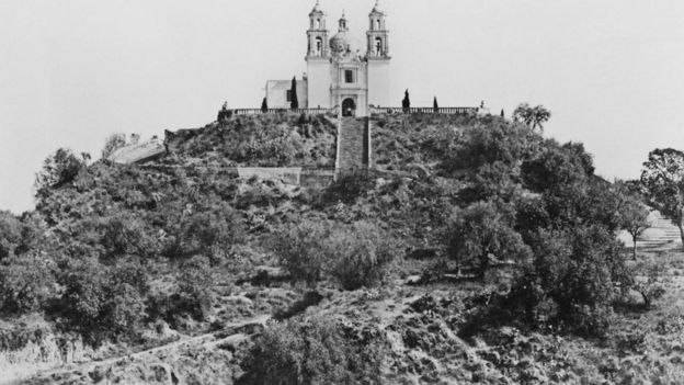 Iglesia de Nuestra Señora de los Remedios en Cholula