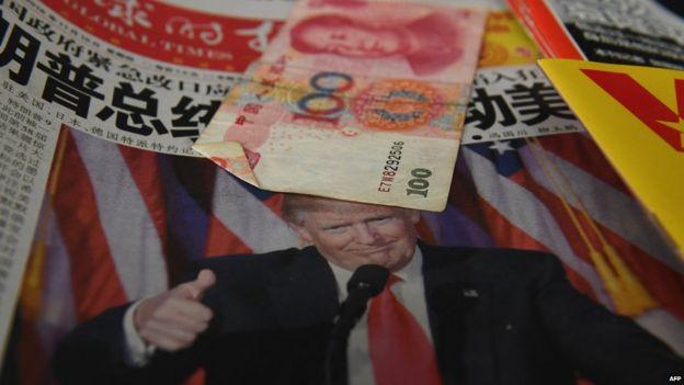 Trump y yuanes