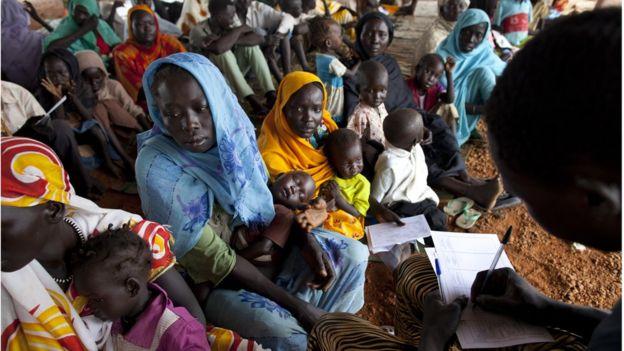 Habitantes de Sudán del Sur