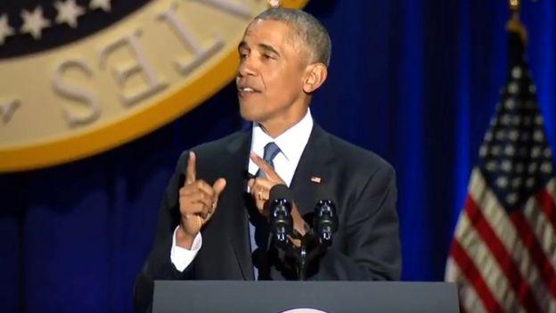 Barack Obama despedida