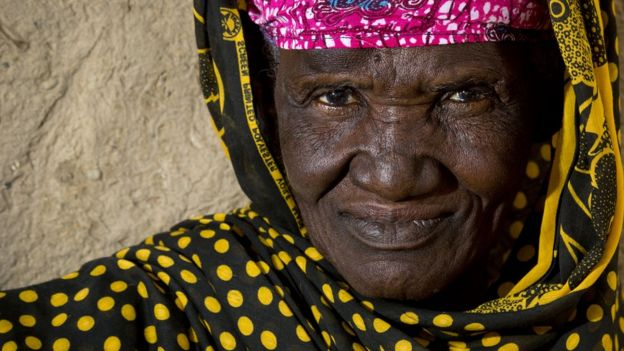 An old woman in Mali