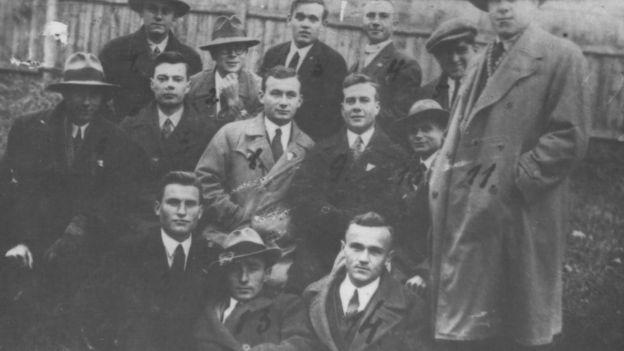 Студенти Львівських вишів - члени ОУН. 1930-ті роки