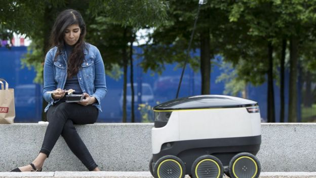 Takeaway app Just Eat to test delivery robots ilicomm Technology Solutions