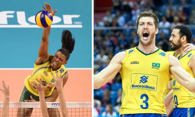 Voleibol femenino y masculino