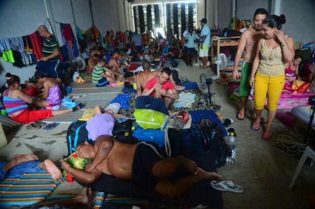 Muchos cubanos han optado por llegar a Estados Unidos por tierra, atravesando Centroamérica y México.