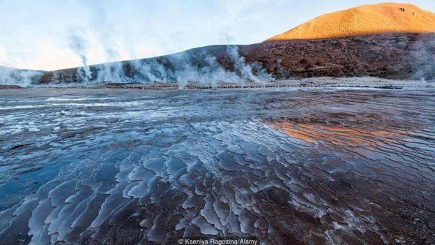 Água vulcânica