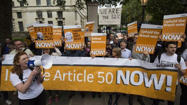 Protesta en Londres