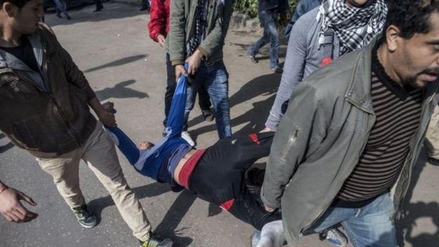 اشتباكات مع قوات الأمن في احتجاجات معارضة للنظام منذ ثلاث سنوات