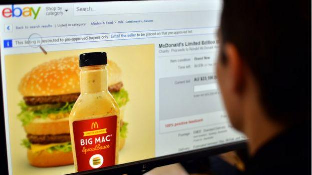 Salsa de Big Mac.